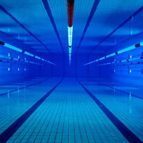 Material deportivo para piscinas