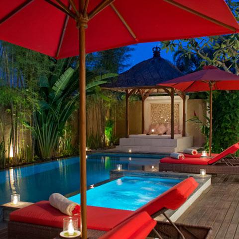 Mobiliario para piscinas