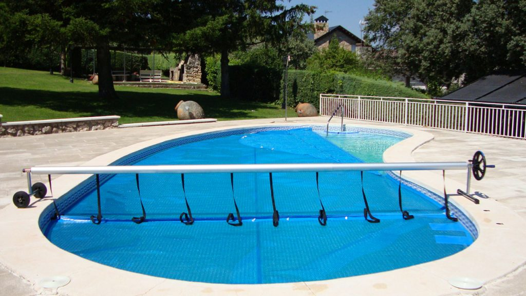 Cobertores de piscina para verano
