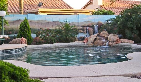 Tipos de murales para piscinas