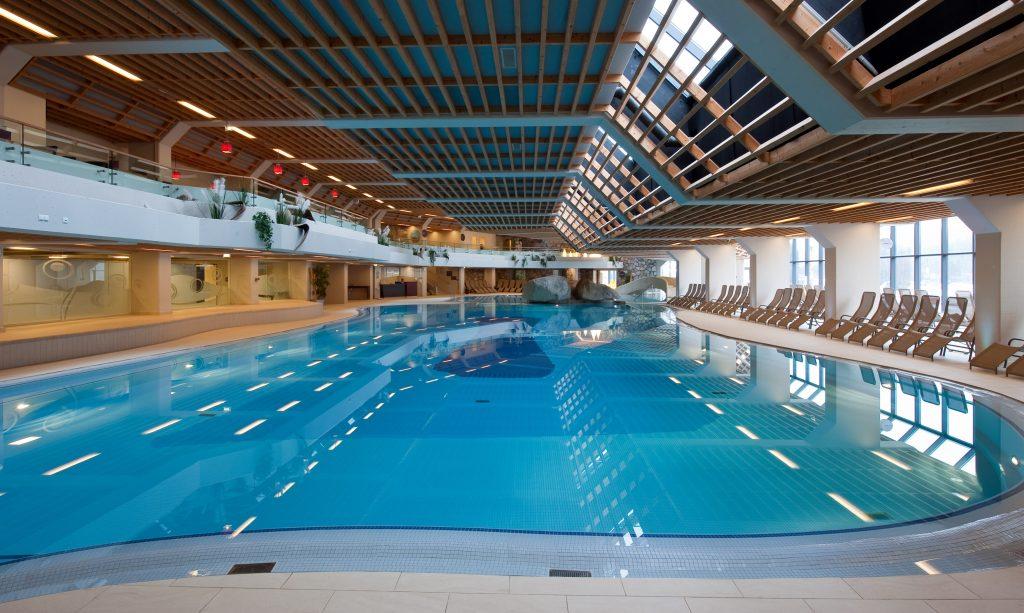 Alta piscina en siloe