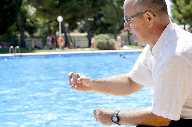 Controles piscinas reapertura COVID-19